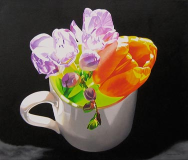 Fresia, Tulip and Espresso Cup